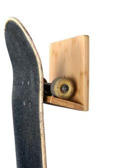 New Bamboo Skateboard Rack   Cor Surf