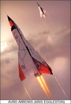 The Canadian CF-105 Avro Arrow