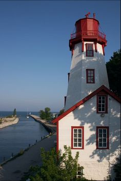 Kincardine Lighthouse, Ontario, Canada by echkbet Lighthouse Lighting, Lake Huron, Beacon Of Light, Light Of The World, Water Tower, Covered Bridges, Windmills, Great Lakes, Nova Scotia