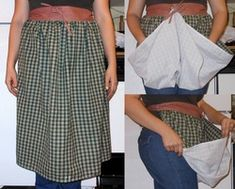 Harvest Apron Tutorial | The 104 Homestead.  Not sure I can follow this, but I would like a harvest apron