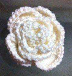 Pola Bros Bunga Mawar Putih