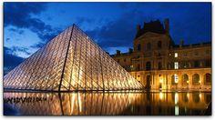 Paris, França - Museu do Louvre