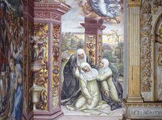 Svenimento di Santa Caterina, Siena, Basilica di San Domenico, Cappella di Santa Caterina