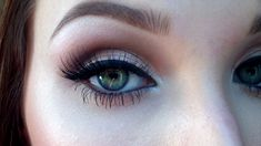Neutral smokey eye for prom, via YouTube.