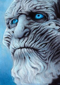 Game of Thrones - White Walker by Trev Murphy Winter Is Coming Meme, Winter Is Coming Wallpaper, Got White Walkers, The Winds Of Winter, Drawings Pinterest, A Clash Of Kings, Game Of Throne Actors, A Dance With Dragons, Game Of Thrones Art