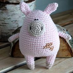 """27 Likes, 8 Comments - Milena Koles (@milenakoles) on Instagram: """"Hello little piggy! You're cute :) You can order Chubby Piggy in my Etsy shop! By purchasing, your…"""""""