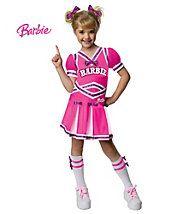Barbie Costumes - Child Barbie Cheerleader Costume