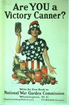 Canning History: When Propaganda Encouraged Patriotic Preserves ... Preserving Food, Vintage Ads, Vintage Advertisements, Vintage Posters, Vintage Apron, Vintage Stuff, Vintage Food, Vintage Recipes, Vintage Signs