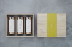 新綠桐木盒 Sprout Green Paulownia Wooden Box on Behance