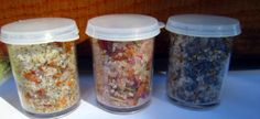 Aromatherapy Foot Soak Samples by CrowsCottage on Etsy, $7.50