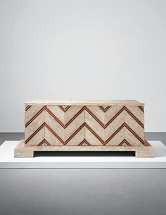 PHILLIPS : UK050115, Jean Royère, Rare 'Chevron' sideboard