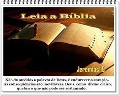 E dir-lhes-ás: Assim diz o Senhor dos Exércitos: Deste modo quebrarei eu a este povo, e a esta cidade, como se quebra o vaso do oleiro, que não pode mais refazer-se, e os enterrarão em Tofete, porque não haverá mais lugar para os enterrar. Jeremias 19:11