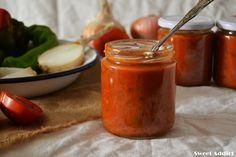 Salsa de #tomates y verduras al horno http://www.sweetaddict.es/2016/09/salsa-de-tomates-y-verduras-asadas.html