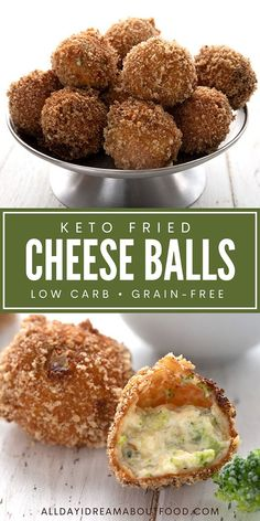 Fried Cheese, Keto Cheese, Ketogenic Recipes, Low Carb Recipes, Cooking Recipes, Low Carb Appetizers, Appetizer Recipes, Broccoli Cheese Bites, Aperitivos Keto