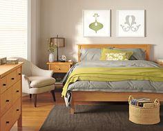 Nice arrangement of bedroom furniture