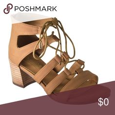 Coming Soon!! Lace Up Chunky Sandals Chunky heeled casual sandals. Great for spring and summer! Shoes Sandals