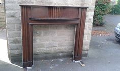 Oringinal 1930's Fire surround - mahogany | Newcastle, Tyne and Wear | Gumtree
