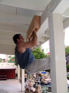 DIY Hang Board for Crack Climbing.   Train those forearms in no time.