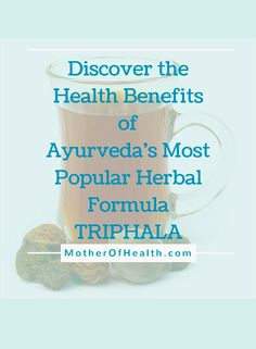 The most popular ancient Ayurvedic herbal formula is Triphala. People in India have used Triphala for thousands of years to support and strengthen digestive health.     Here you will discover all the health benefits of Triphala.  .  .  .  .  .  #ayurveda #ayurvediclifestyle #triphala  #ayurvedicherbs #ayurvedaherbs