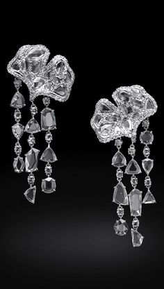 White Diamond Earrings - Carnet by Michelle Ong
