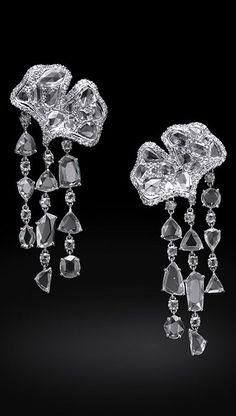 White Diamond Earrings - Carnet by Michelle Ong