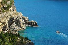 la grotta 2 Corfu Island, Halcyon Days, Greek Islands, More Photos, Greece, Beautiful Places, Water, Outdoor, Greek Isles