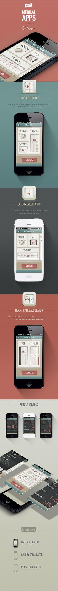 Medical Apps by Gábor Jutasi & Dániel Kövesházi - így kell kinézzen egy felhasználói felület! 10/10