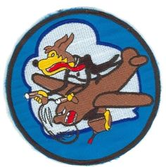 WW2 SQUADRON PATCHES
