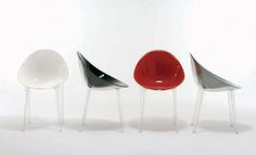 Chaises on pinterest philippe starck eames and chairs - Chaise design starck ...