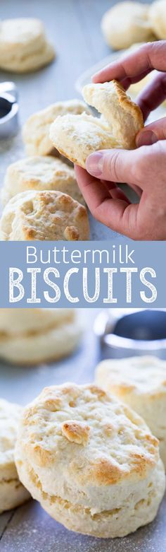 Soft and fluffy buttermilk biscuits are the perfect addition to any meal. Plus there is an easy hack to make these the easiest biscuits ever.