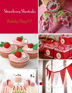 Boydandolsonphotography strawberry theme smash cake - Strawberry themed kitchen decor ...