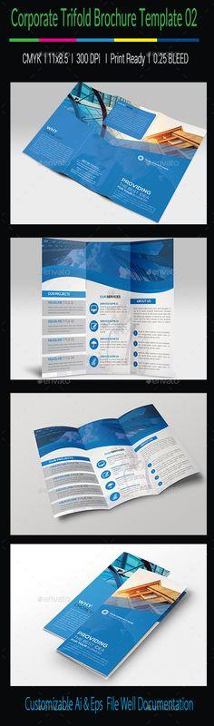 Corporate Trifold Brochure Tempalte #design Download: http://graphicriver.net/item/corporate-trifold-brochure-template02/11801188?ref=ksioks