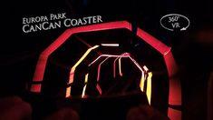 Europa Park EuroSat CanCan Coaster 360° VR POV Onride Park, Coasters, Youtube, Europe, Coaster, Parks, Youtubers, Youtube Movies