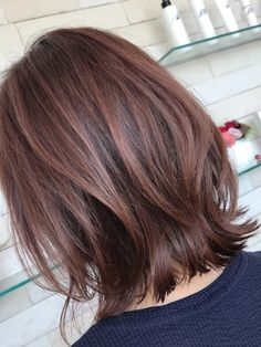 Pin on 髪型 Layered Haircuts For Medium Hair, Blonde Layered Hair, Long Hair Cuts, Medium Hair Styles, Long Hair Styles, Choppy Bob Hairstyles, Thin Hair Haircuts, Pelo Ulzzang, Korean Short Hair