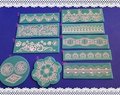 Classics Lace Shaped Silicone Mold Mould Fondant Cake Decorating Tool Baking   eBay