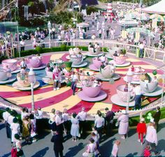 Disneyland in the 50's!!! I want to go back in time so bad.
