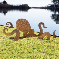 Octopus Garden Sculpture
