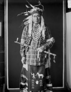 Running White Weasel – Nez Perce – 1907