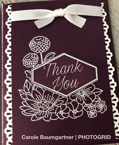 Stampin' Up!- Accented Blooms