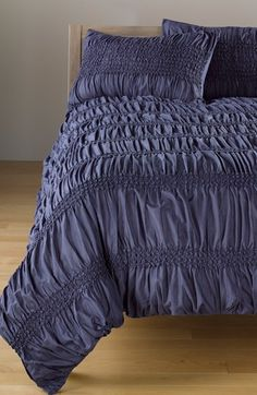 Free shipping and returns on Nordstrom at Home 'Isabella' Duvet Cover at Nordstrom.com. Smocked stripes collect soft cotton voile into romantic gathers on a texture-rich duvet cover.