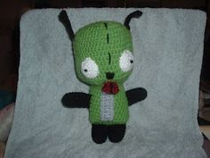 Gir in the Puppy Suit by ChrisCrossCrafts (free pattern)