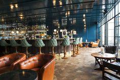 Restaurant & bar design | panelling | Soho House | 76 Dean Street