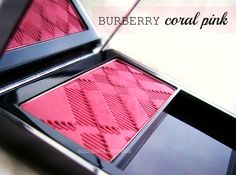 burberry coral pink blush