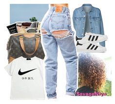 """""""RandomSet✨"""" by savage-ambrose ❤ liked on Polyvore featuring Sephora Collection, NIKE and adidas"""