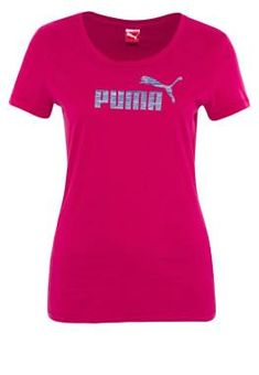 Puma Fun Camiseta Print Fucsia camisetas y blusas PUMA print Fun fucsia camiseta CentralModa.eu