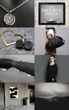 Black by Maya Katan on Etsy--Pinned with TreasuryPin.com