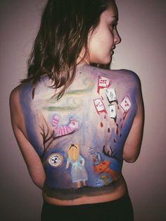 body Back Painting, Back Art, Artsy, Crafty, Women, Fashion, Moda, Fashion Styles, Fashion Illustrations
