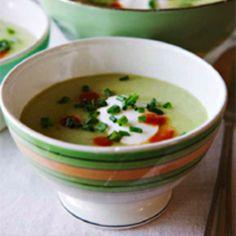 Cucumber Avacado Soup