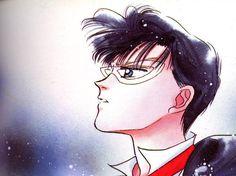 """Mamoru...My first """"cartoon crush"""". I really hoped someone like him existed!"""