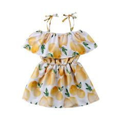 Material:CottonSilhouette:A-LineSleeve Length(cm):ShortSleeve Style:RegularDresses Length:Knee-LengthCollar:O-neckFit:Fits true to size, take your normal size Baby Girl Fashion, Toddler Fashion, Kids Fashion, Fashion Outfits, Pageant Dresses, Girls Dresses, Girl Sleeves, Girls Rompers, Cute Baby Clothes
